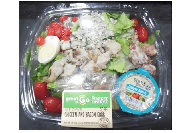 Giant Eagle format recalled salad
