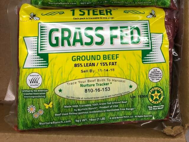 Nurture Ranch 1 Steer™ Ground Beef