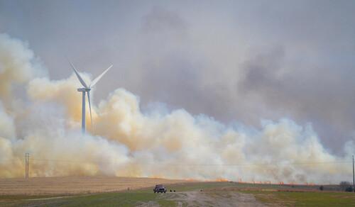Oklahoma wildfire