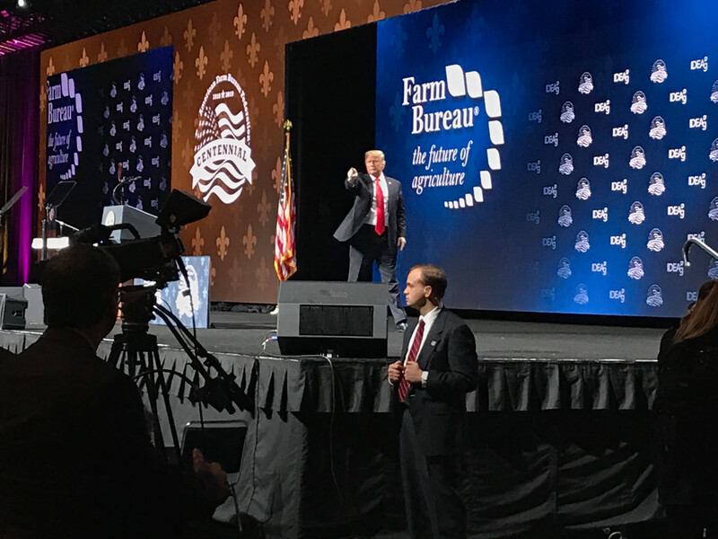 Trump at AFBF