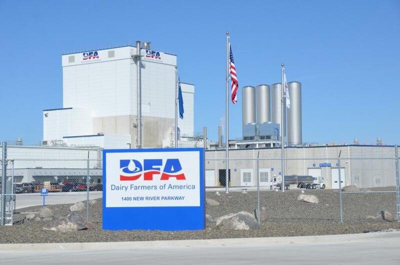 DFA Fallon Nevada Dry Milk Powder Processing Plant