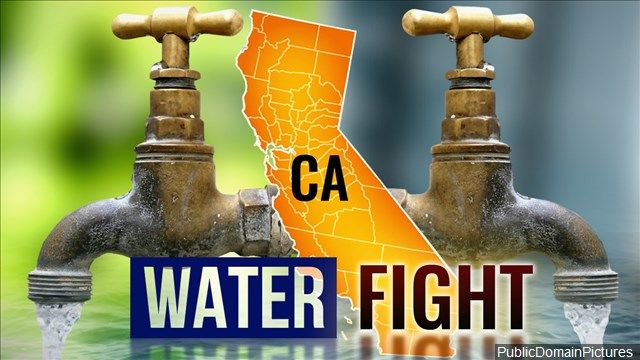 Hundreds of California farmers rallied at the Capitol on Monday to protest state water officials' proposal to increase water flows in a major California river which would mean less water for farms in the Central Valley.