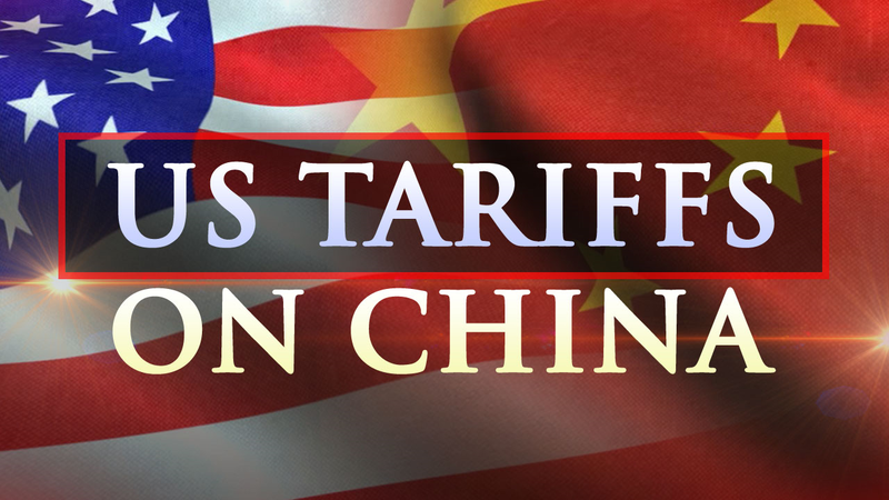 The U.S. said it will begin imposing 25 percent duties on an additional $16 billion in Chinese imports in two weeks.