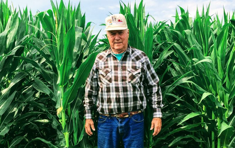 In the spring of 1975, Ed Hain rolled the dice and planted several six-row strips of corn and soybeans, kicking off 15-year average of roughly 50 extra bushels of corn yield per acre.