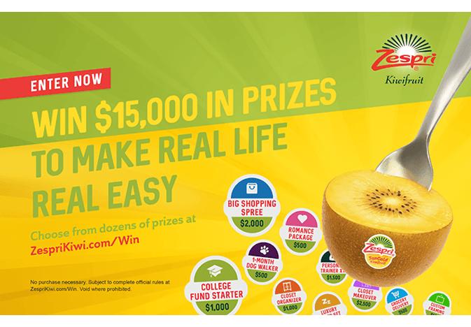 Zespri real snack campaign