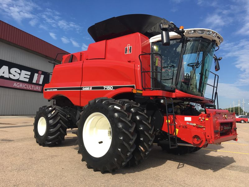 Thursday, Case IH introduced its limited edition 50 series axial-flow combine lineup to U.S. farmers with a special-edition 150 series.