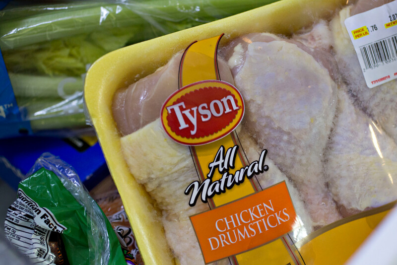 Tyson Foods All Natural Chicken