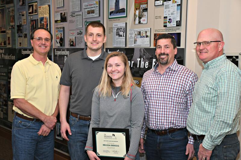 The Maschhoffs Honors Melissa Diericks