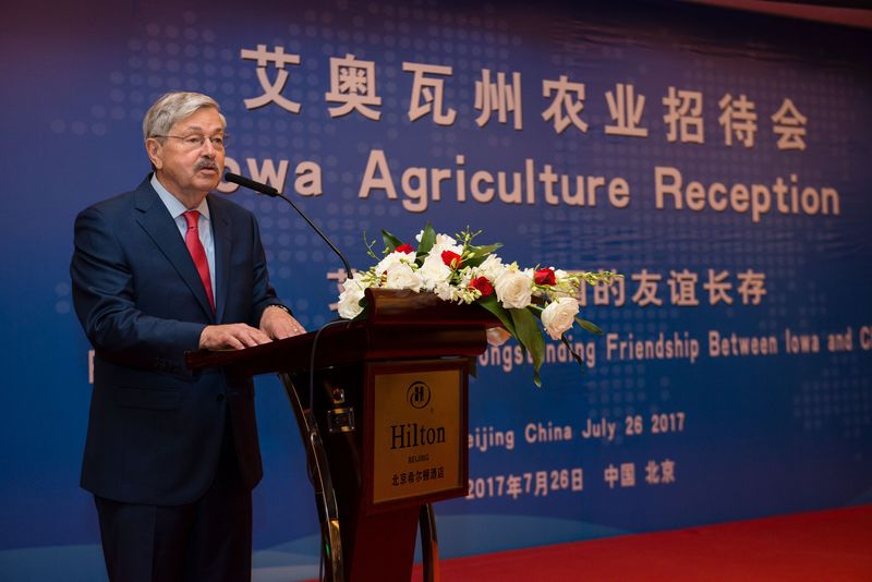 Iowa soybean leaders recently traveled to China to reaffirm their commitment to agricultural trade.