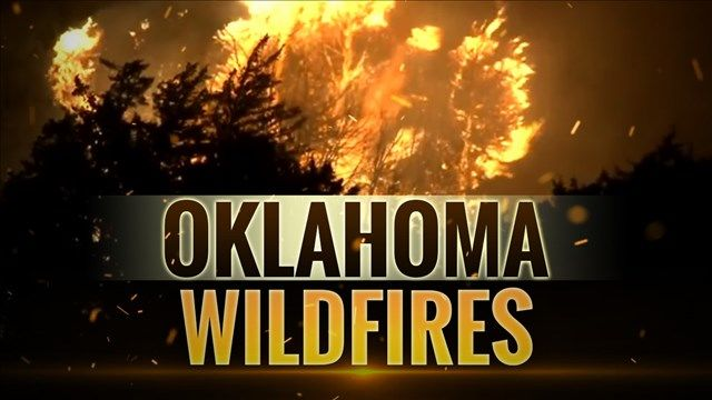 Oklahoma sheriff says one of the massive wildfires in Dewey County may have been intentionally set.