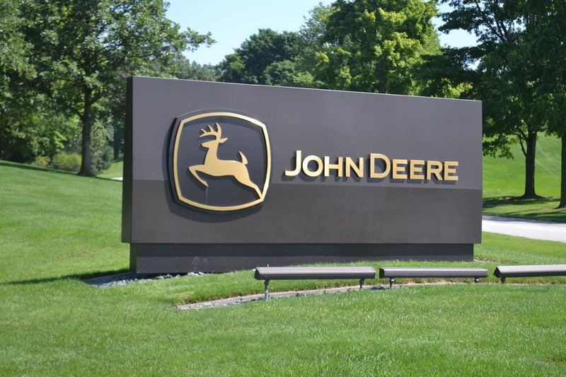 Deere & Co., the world's largest maker of agricultural equipment, is concerned that rising trade tensions between the U.S. and other countries could affect sales of its signature green-and-yellow machinery.