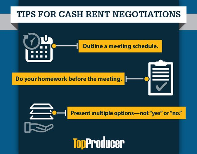 If thinking about negotiating cash rental rates makes you sweat—you're not alone. Employ these negotiation strategies.