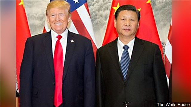President Trump said he doubts the U.S. and China can come to an agreement over trade, as the world's largest economies resumed negotiations to avoid a damaging trade war.