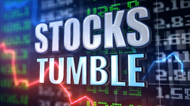 Stocks tumble