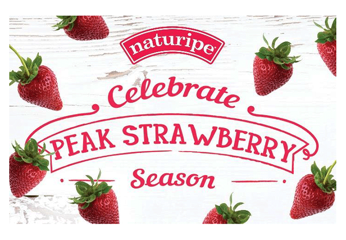 Naturipe Farms is seeing peak supplies of strawberries from California.