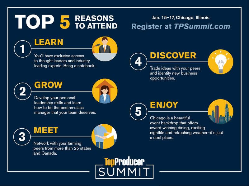 Top 5 Reasons to Attend TP Summit