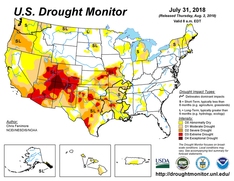 Drought Monitor 8.2