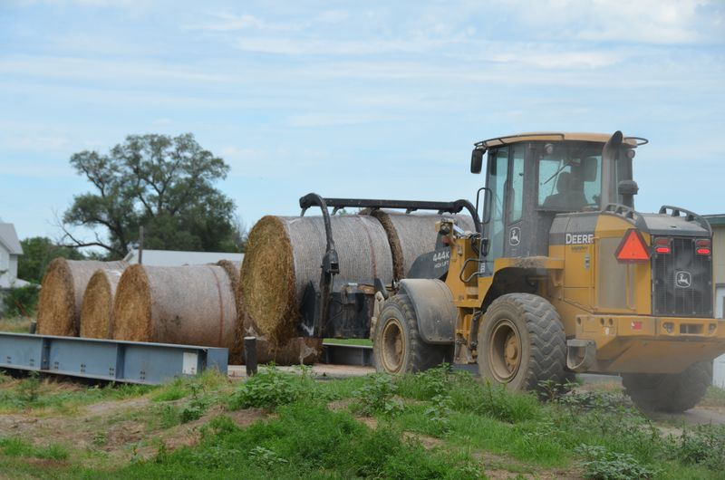 When dealing with hay crops, it is especially important to take safety precautions, considering that hay crops are typically grown on rough, steep or other ground unsuitable for row crops.