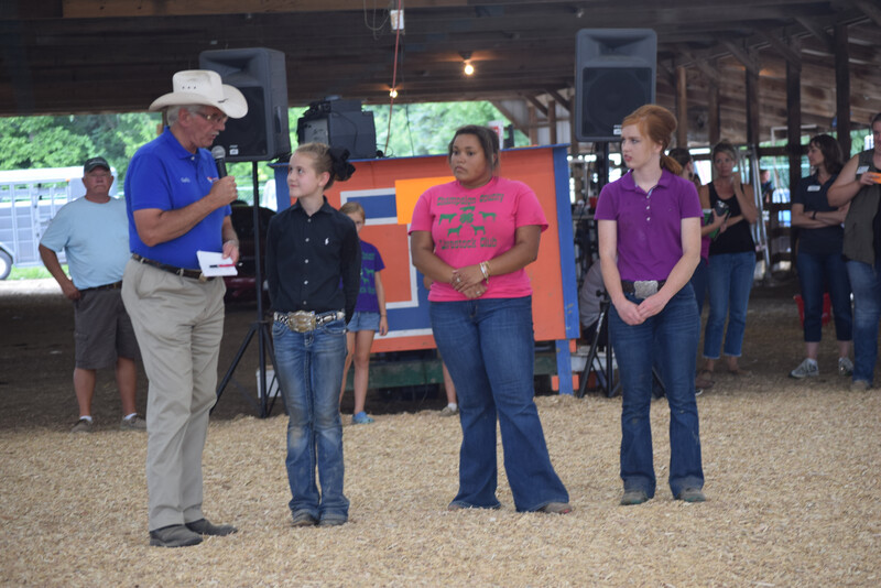 County fairs provide youth with the opportunity to tell their story about raising livestock to the media and the general public.