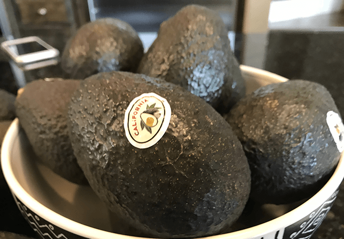 California Avocado Commission event