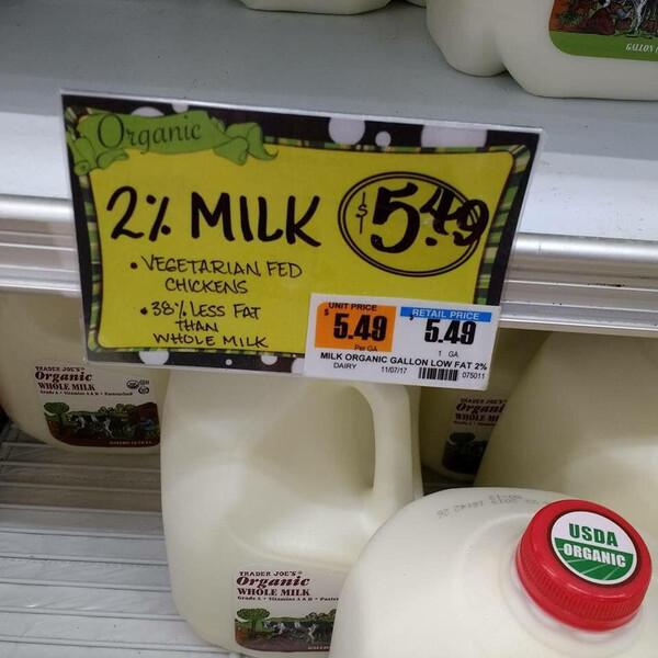 Chicken Milk