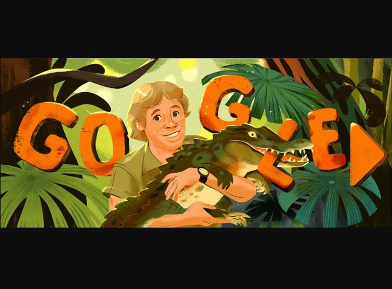 Steve Irwin Google