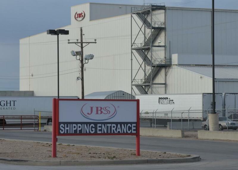 JBS Packing Plant Cactus Texas