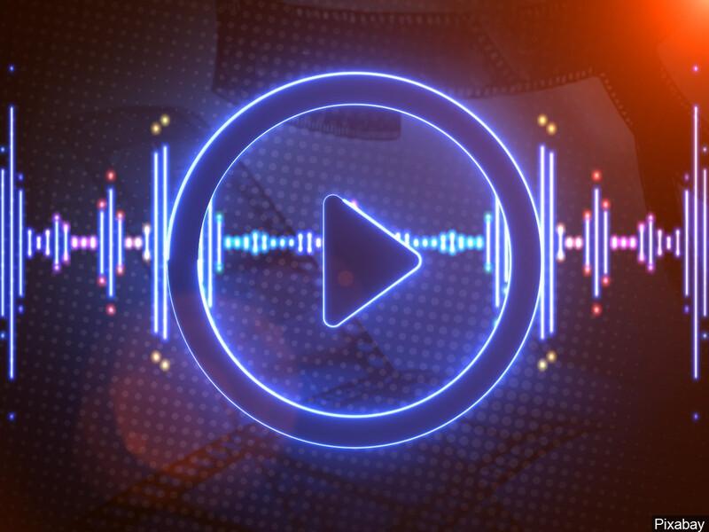 music radio player