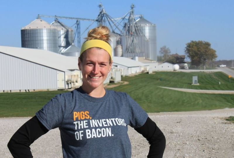 Erin Brenneman encourages producers – and everyone in agriculture – to use social media as a way to connect with consumers.