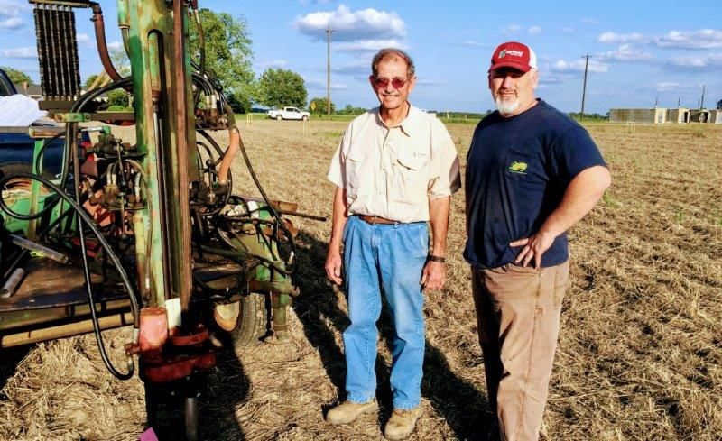 Two farmers had ground turned upside-down by a pipeline. Compounding the growers' frustration, the government is allowing the pipeline to conduct a soil investigation on the same farmland it is accused of ruining.