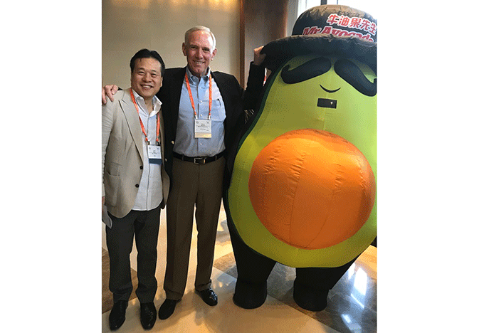 """Citing the """"huge opportunity"""" for avocado consumption in China, Mission Produce President and CEO Steve Barnard announced the company is building a second ripening facility in the country."""