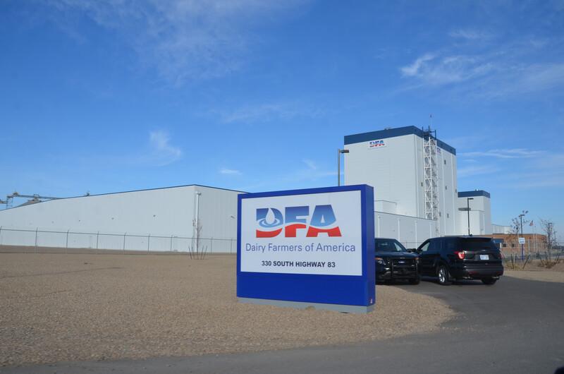 DFA Dry Milk Powder Processing Plant Garden City City Kansas