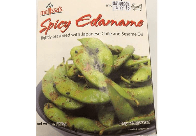 spicy edamame outside