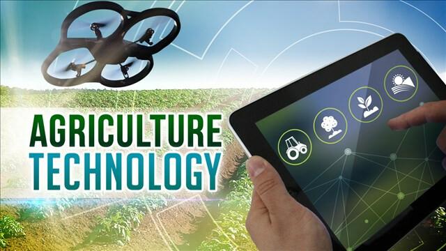 Drone technology on farm
