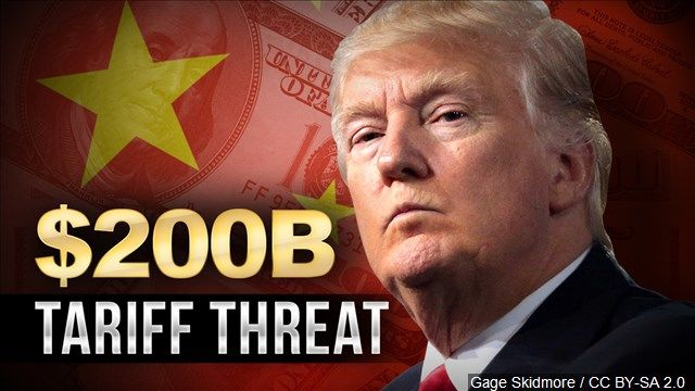 The U.S. has so far imposed tariffs on $50 billion in Chinese goods, with Beijing retaliating in kind. Now, President Trump appears ready to up the ante to $200 billion.
