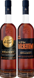 Copper & Kings American and Butchertown Brandy Bottle Grouping