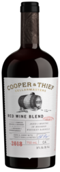 2018 Cooper & Thief Red Blend 750ml Bottle Shot