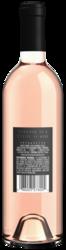 2020 Unshackled Rose 750ml Back Bottle Shot