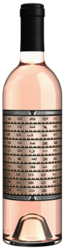 2020 Unshackled Rose 750ml Front Bottle Shot